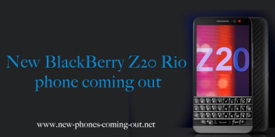 New BlackBerry Z20 Rio phone coming out
